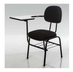 4 unidades - Cadeiras Universitárias com Braço direito