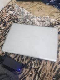 Título do anúncio: Vendo notebook HP g42 prata, problema no disco rigido e teclado tem q trocar