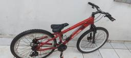 Bicicleta Gios com kit Shimano