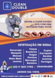 Dedetização de insetos - Higienização em geral - Sanitização Covid 19