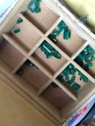 Esmeraldas lapidadas