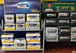 Título do anúncio: baterias novas e seminovas instalação e entrega gratis , região de santos