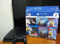 Console Playstation 4 1TB - Games God Of War + Ratchet Ad Clank + Ghost Of Tsushima<br><br>