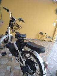 Bicicleta elétrica novíssima