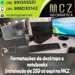 Assistência Técnica em Computadores e Notebooks