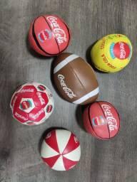 Mini bolas das Olimpíadas 1996 - Coca Cola