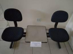 Cadeira dupla para sala de espera - Cerquilho/SP