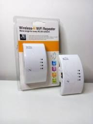 Título do anúncio: NOVO - Repetidor e Expansor Sinal Wifi (Entrega grátis JP)