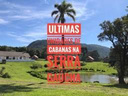 O melhor da Serra Gaúcha, cabanas em São Francisco de Paula