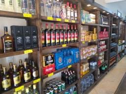 Prateleira / Gôndola em Madeira ou Ferro - Tudo para sua loja / Facilitamos Pagamento