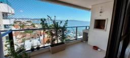 Apartamento com 3 dormitórios à venda, 92 m² com vista p/ o mar - Balneário Estreito - Flo