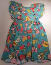 Vestidinho infantil feminino TAM 10