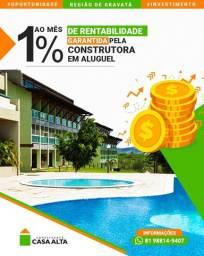 Título do anúncio: Investimento garantido! Flat com rentabilidade de 1% ao mês