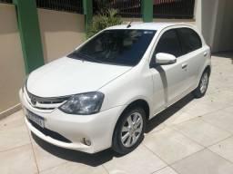 Toyota etios XLS 1.5 ano 2017