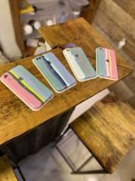 Título do anúncio: Cases Raiwbown arco-íris Iphone Xr
