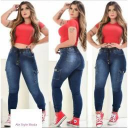 Calça jeans jogger. Somente tamanho veste tamanho 34/36 e 38. R$ 50,00 cada.
