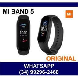 Título do anúncio: Miband 5 Original Xiaomi - Prova dágua