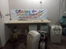 Título do anúncio: Oficina do ar portatil