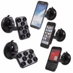 (WhatsApp) suporte spider p/ celular c/ ventosas - uf1-020