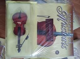 Instrumentos, novos! Lacrados. Para coleção.