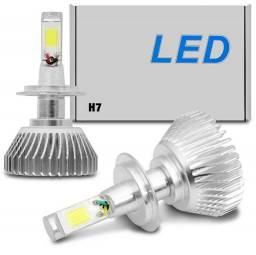 Super Led Gold Encaixe H7 7600 Lumens 6000K 12/24V Valor Unitário
