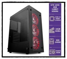 Core I5 9400f Up 4.10Ghz/ Gtx 1650 4Gb 128Bit Gddr6/ 16Gb Ddr4/ Ssd 240Gb/ W10 Pro