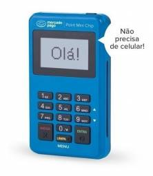Maquina de Cartão Mini Chip Mercado Pago