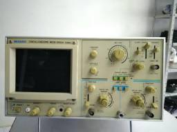 Osciloscópio Analógico Duplo Traço Meguro 25MHZ