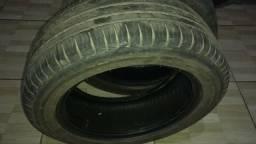 Vendo dois pneus Pirelli 195/55 aro 15 - 2015