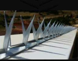Lança Mandíbula Em Aço Galvanizado Para Muros e Portões