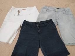 São 3 shorts jeans Tam 40/42
