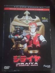 Jiraiya o incrivel ninja box dvd completo original