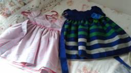 Vestido infantil - Usado somente uma vez