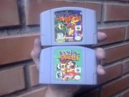 Banjo Kazooie e Banjo Tooie N64