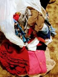 Vendo lote de roupa variadas p m g