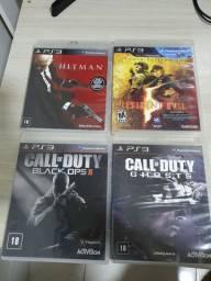 Jogos de PS3 - R$ 45 cada
