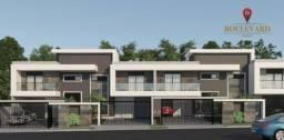 Sobrados novos Residencial Gallant, com 3 dormitórios à venda, 132 m² por R$ 594.585 - Boq