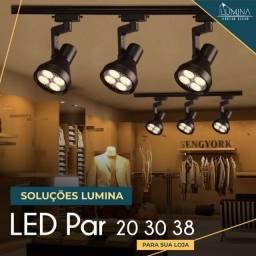 Par 20 e Par 30 - As lâmpadas ideais para sua loja
