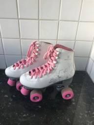 Lindo patins feminino