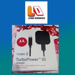 Carregador Turbo Original Motorola