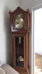 Relógio pedestal carrilhao- anos80