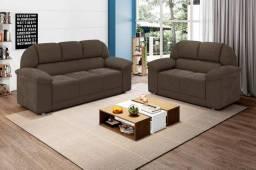 Conjunto sofa 2 e 3 lugares Bilbao SFX617