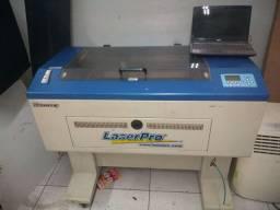 Corte e gravação a laser co2