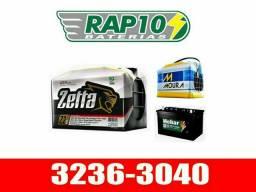 Bateria zetta de 60 e 70AH