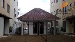 Apartamento com 2 dormitórios para alugar, 60 m² por R$ 670,00/mês - Recanto Tropical - Ca