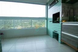 Apartamento com 3 dormitórios à venda, 123 m² por R$ 750.000 - Canto do Forte - Praia Gran
