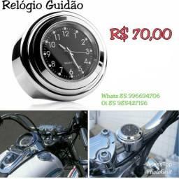Relógio Guidão Moto