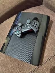 PS3 travado 1 manete ótimo estado e com GTA 5