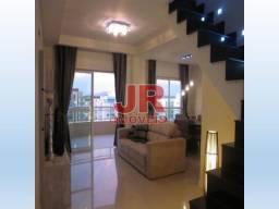Excelente cobertura duplex 03 dormitórios, móveis planejados, 03 suítes. Braga - Cabo Frio