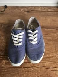 Tênis estilo keds jeans